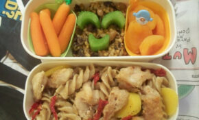 Chicken Pasta Bento (with Recipe) – Chicken Recipes For Kids