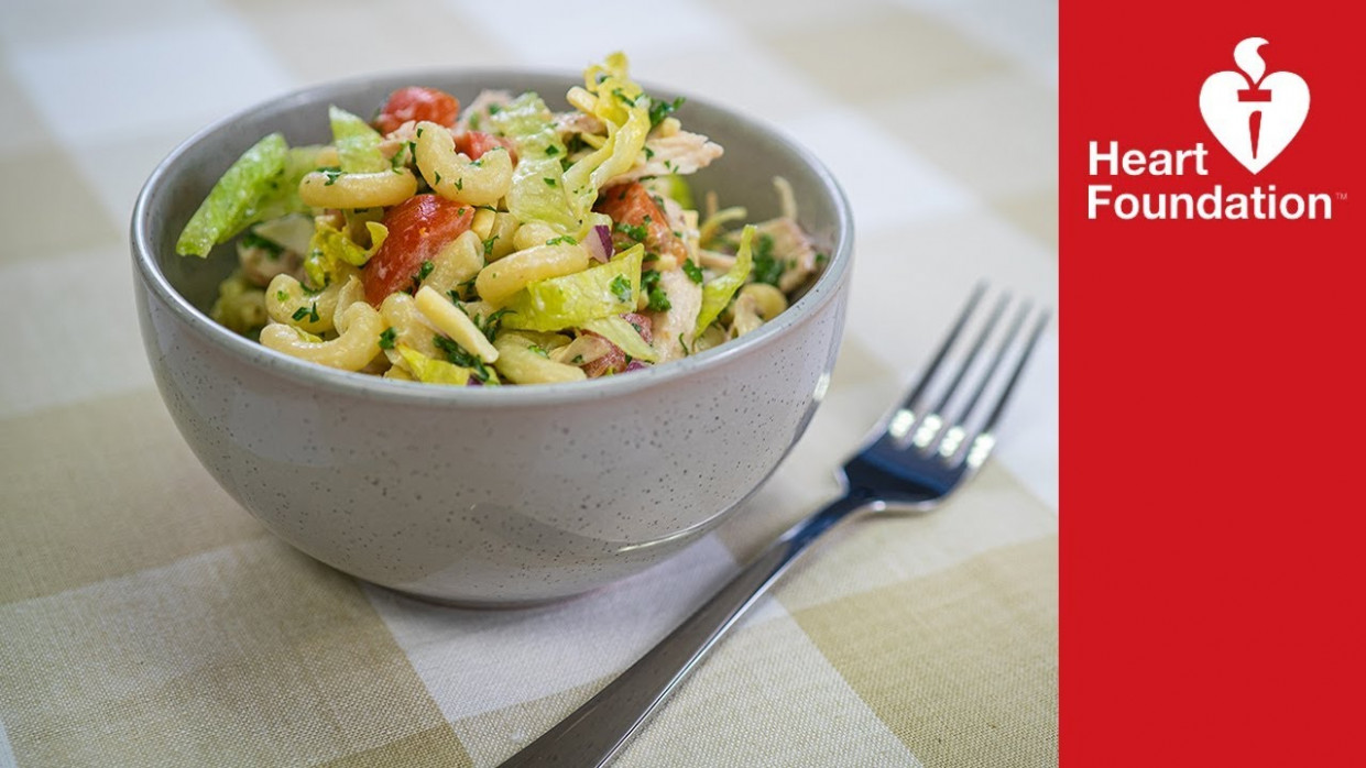 Chicken pasta salad | Healthy Recipes & Meal Ideas | Heart Foundation NZ - recipes for a healthy heart