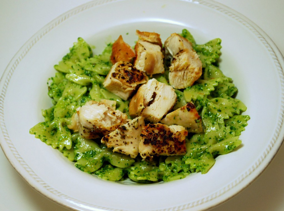 Chicken pesto pasta - recipes pesto chicken