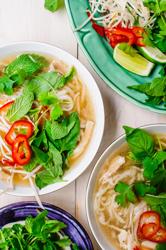 Chicken Pho Is An Aromatic Vietnamese Soup With Flavors Of Clove And Cinnamon. Usually Taking Hours, This Pressure Cooker Chicken Pho Recipe Is Made Within 30 Minutes
