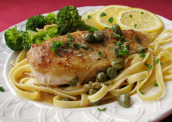 Chicken Piccata - Giada De Laurentiis Recipe - Food