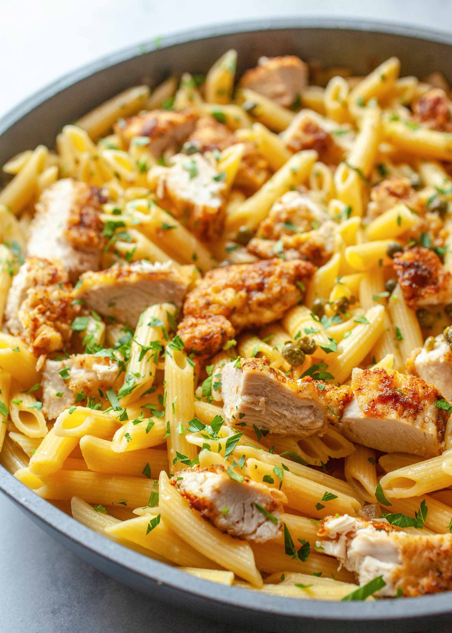 Chicken Piccata Pasta – foodingnews.it – All about the world ..