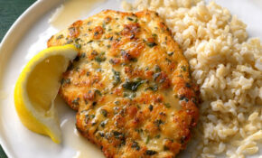 Chicken Piccata With Lemon Sauce – Recipes With Chicken Breast