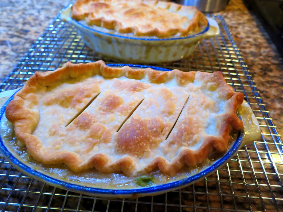 Chicken Pot Pie for Two - recipes easy dinner for two
