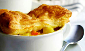Chicken Pot Pie With Puff Pastry – Pinch And Swirl – Puff Pastry Recipes Dinner