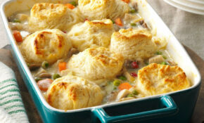 Chicken Potpie Casserole Recipe | Taste Of Home – Recipes With No Food In The House
