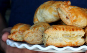 Chicken Puff Pastry Chicken Patties — Food, Pleasure & Health – Puff Pastry Recipes Dinner