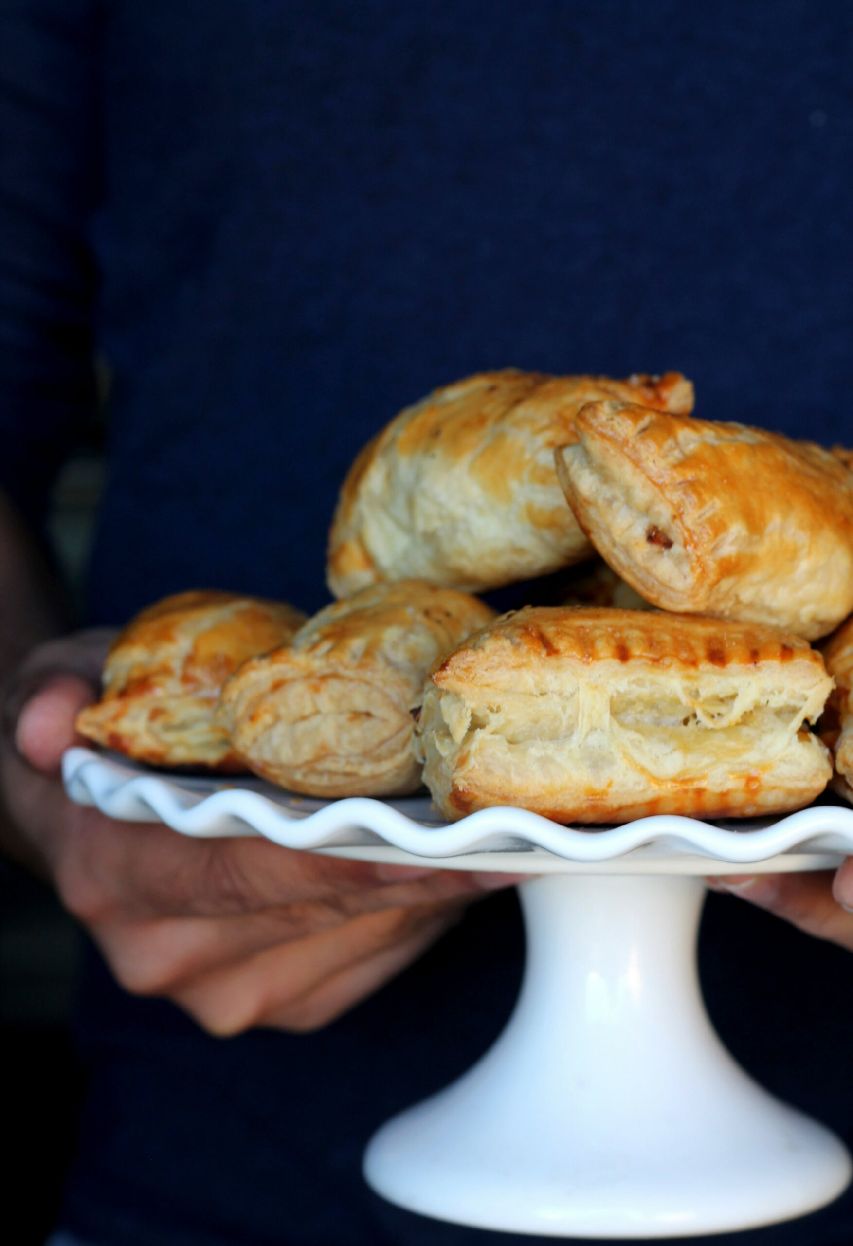 Chicken Puff Pastry Chicken Patties — Food, Pleasure & Health - Puff Pastry Recipes Dinner