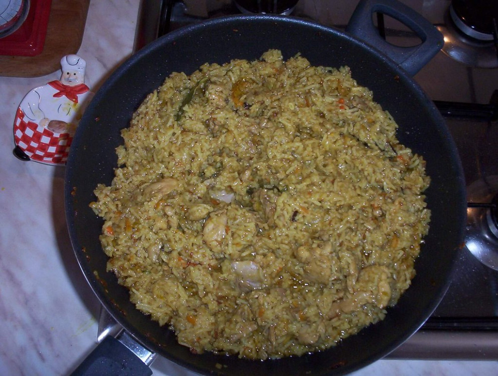 Chicken Pulao (03) - recipes garlic chicken
