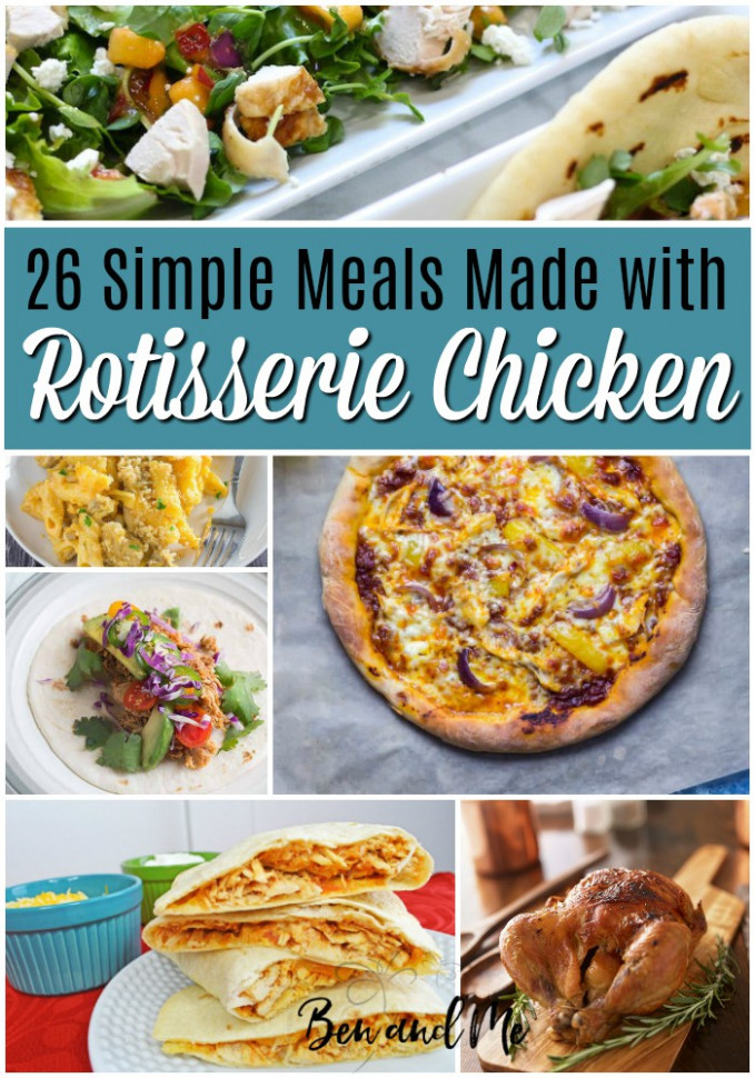 Chicken Quesadillas + 25 More Simple Meals Made with ..