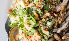 Chicken Quinoa Salad With Dijon Mustard Dressing – Recipes Quinoa Chicken