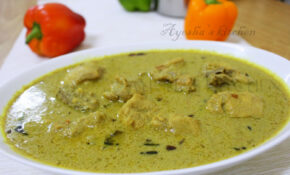 CHICKEN RECIPES – CHICKEN IN ROASTED COCONUT GRAVY/ THENGA ..