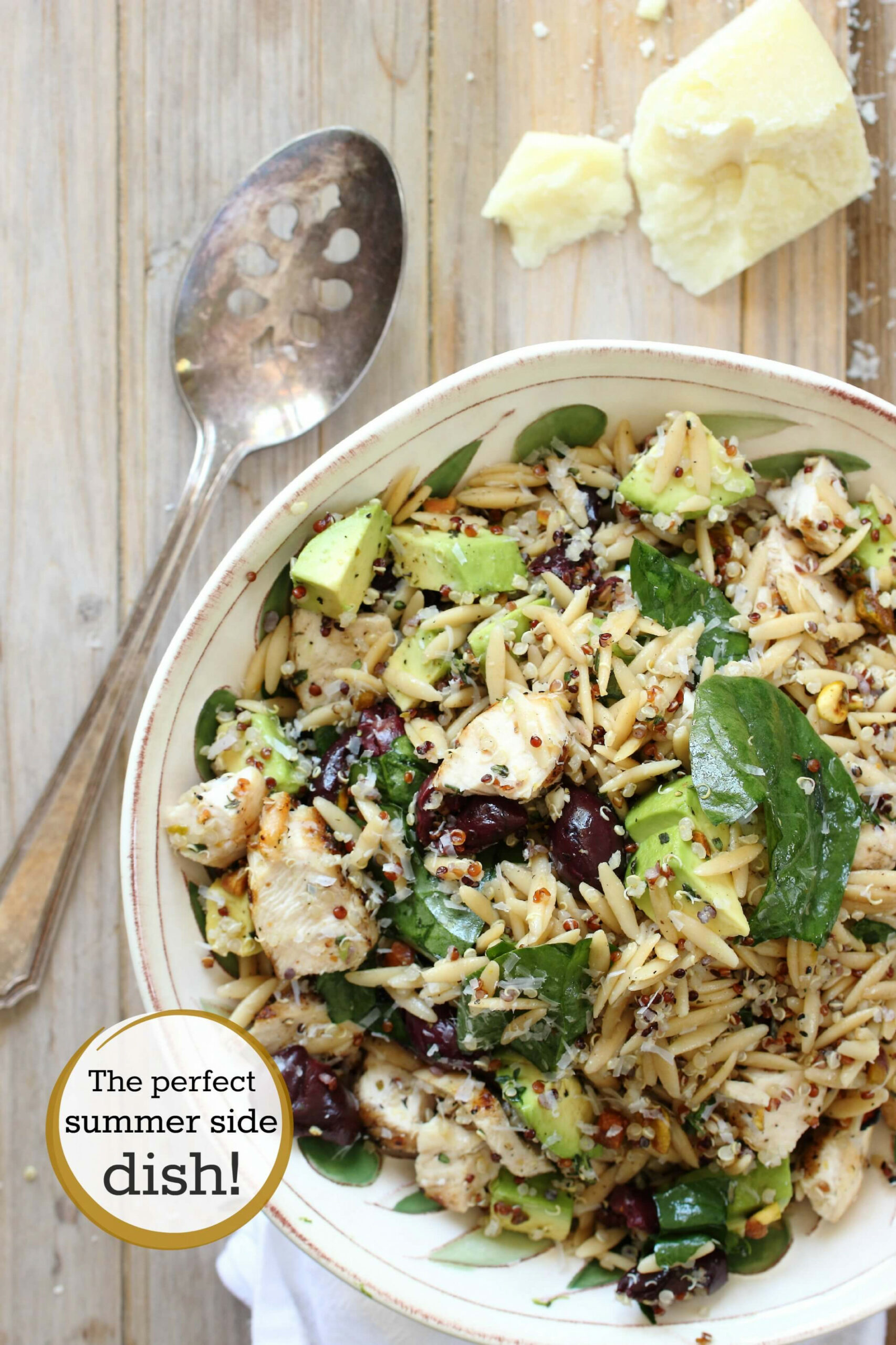 Chicken Salad With Quinoa And Orzo - Dinner Recipes Quinoa