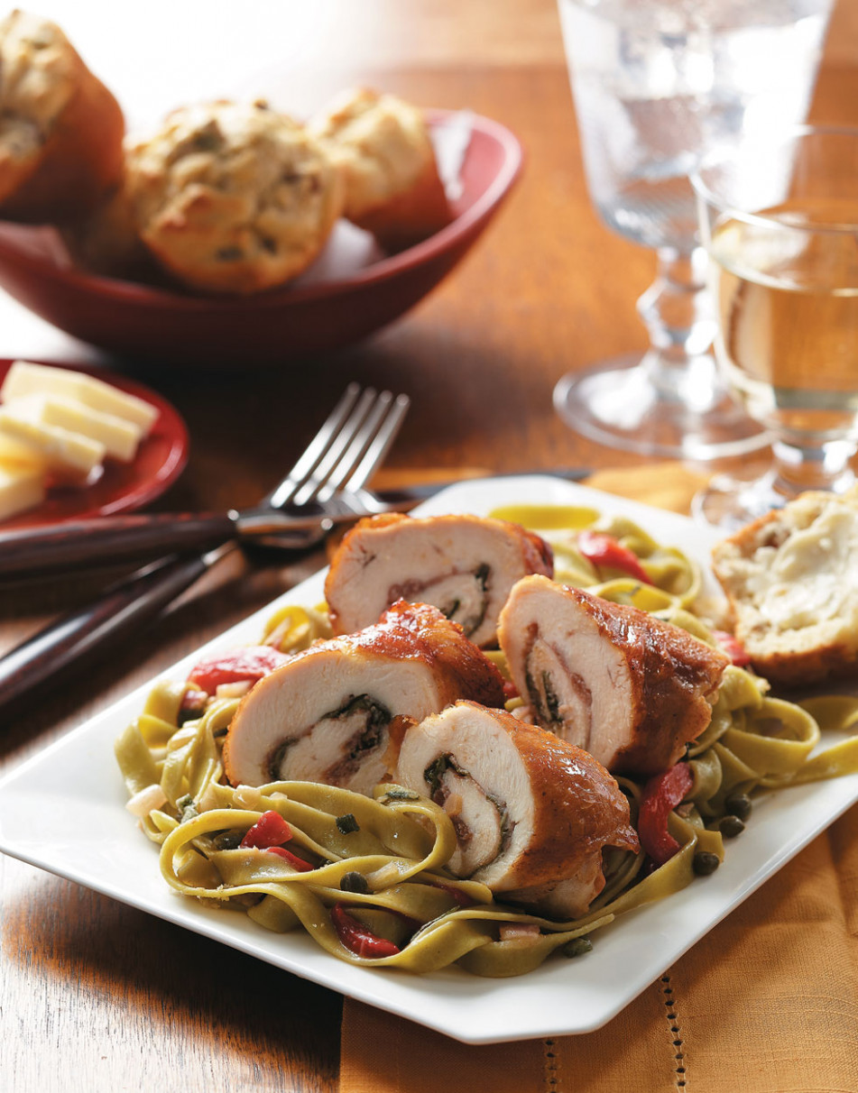Chicken Saltimbocca Recipe - chicken recipes at home