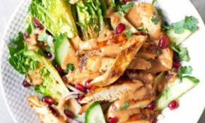 Chicken satay salad recipe | BBC Good Food