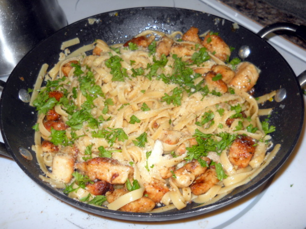 Chicken Scampi - Olive Garden Recipes Chicken Scampi