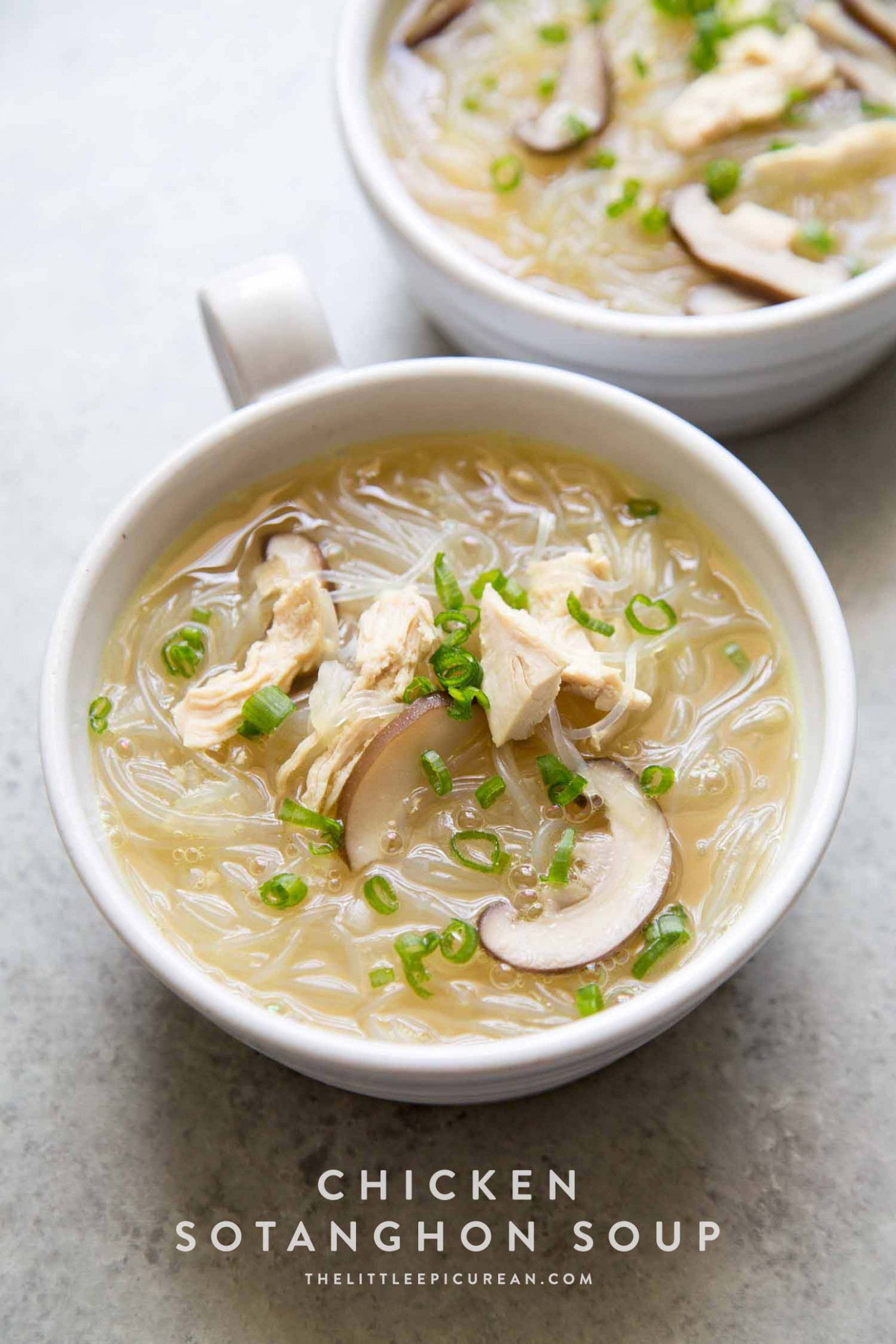 Chicken Sotanghon Soup - noodle recipes chicken