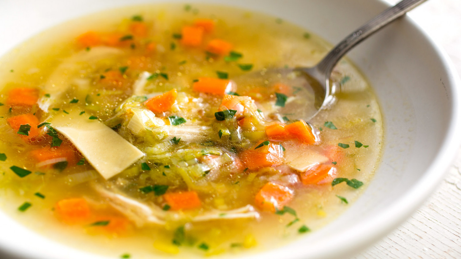 Chicken Soup From Scratch Recipe - NYT Cooking - recipes soup with chicken
