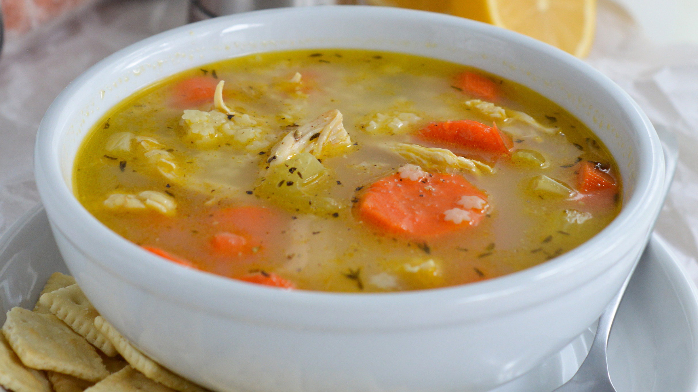 Chicken Soup Recipe — Dishmaps - recipes soup with chicken