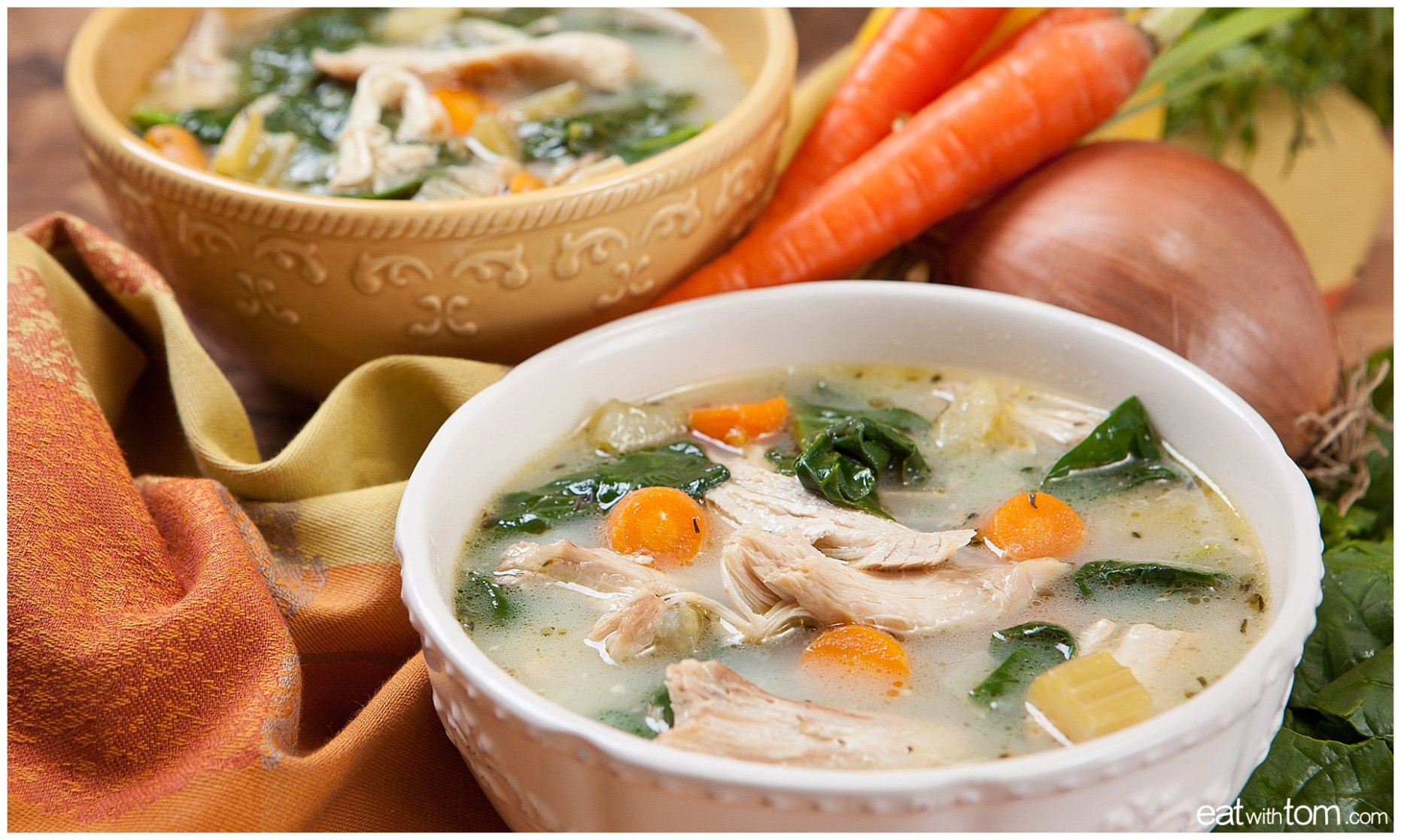 Chicken Soup Recipe - Pressure Cooker Method - power pressure cooker xl recipes chicken