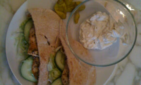 Chicken Souvlaki Pitas With Tahini Sauce – Greek Yogurt Recipes Dinner