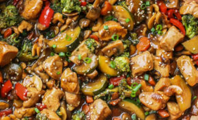 Chicken Stir Fry Recipe – Vegetarian Chinese Food Recipes
