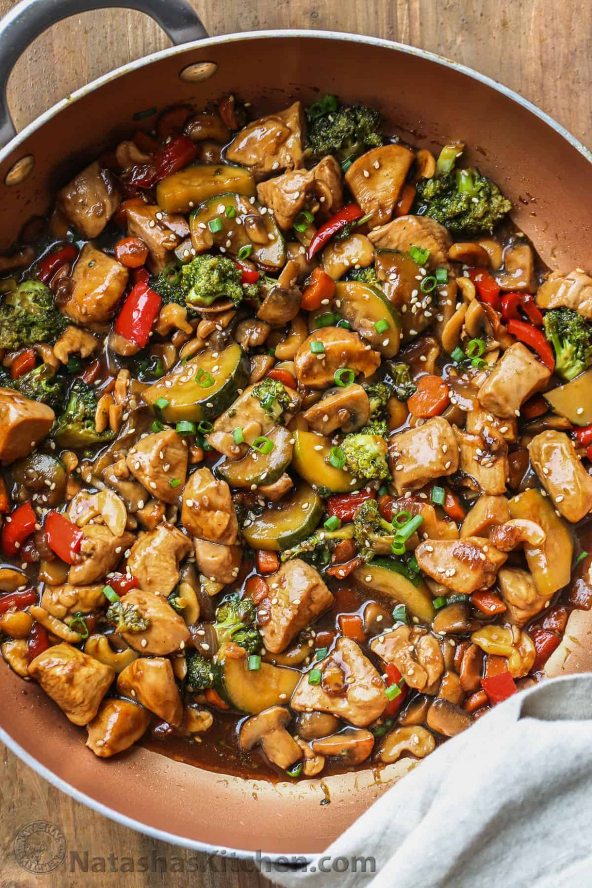 Chicken Stir Fry Recipe - veggie recipes dinner