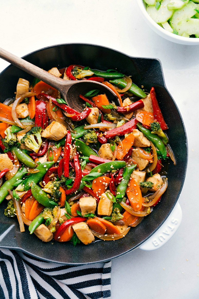 Chicken Stir Fry - stir fry recipes chicken