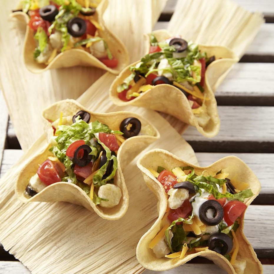 Chicken Taco Bowls Recipe - EatingWell - easy food recipes