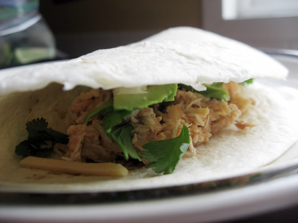 Chicken Tacos - chicken recipes for slow cooker