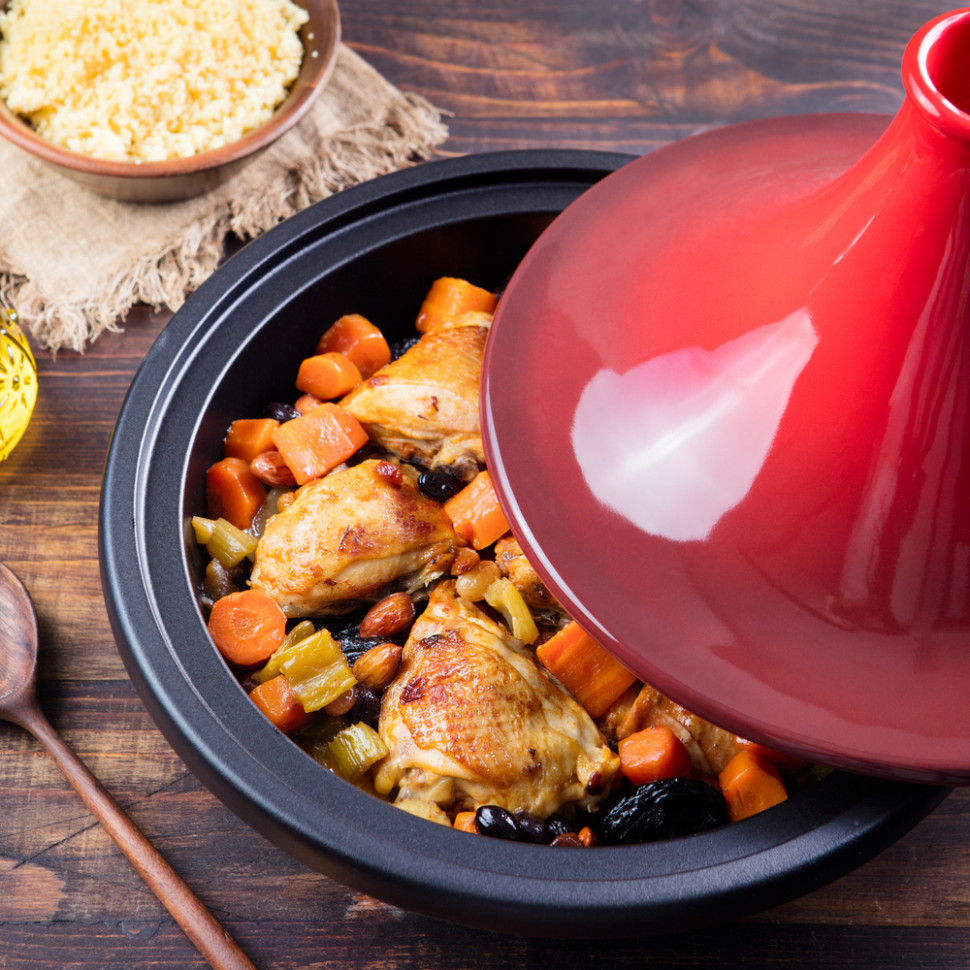 Chicken Tajine With Kumara, Carrots And Prunes - Chicken Recipes Nz