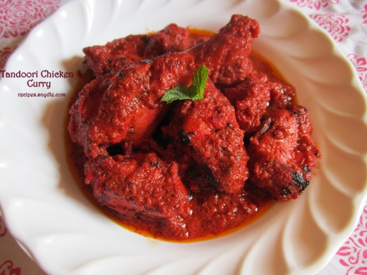 Chicken Tandoori Masala Chicken Tandoori Gravy Recipe ..