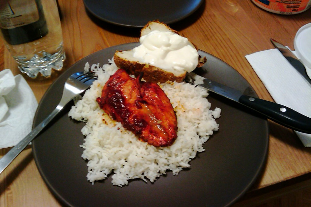 chicken tandoori - recipes with chicken and rice