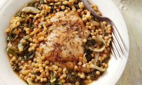 Chicken Thighs With Couscous & Kale – Recipes Kale And Chicken
