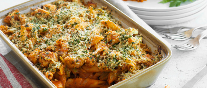 Chicken, Tomato and Parmesan Pasta Bake | Food in a Minute - recipes dinner nz