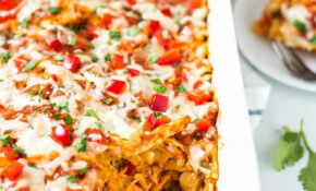 Chicken Tortilla Casserole – Easy Mexican Food Recipes