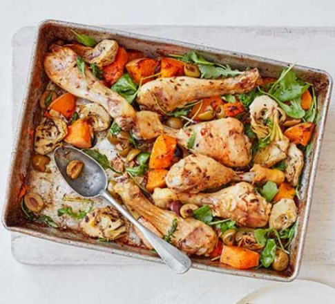 chicken tray bake sorted - tray bake recipes chicken