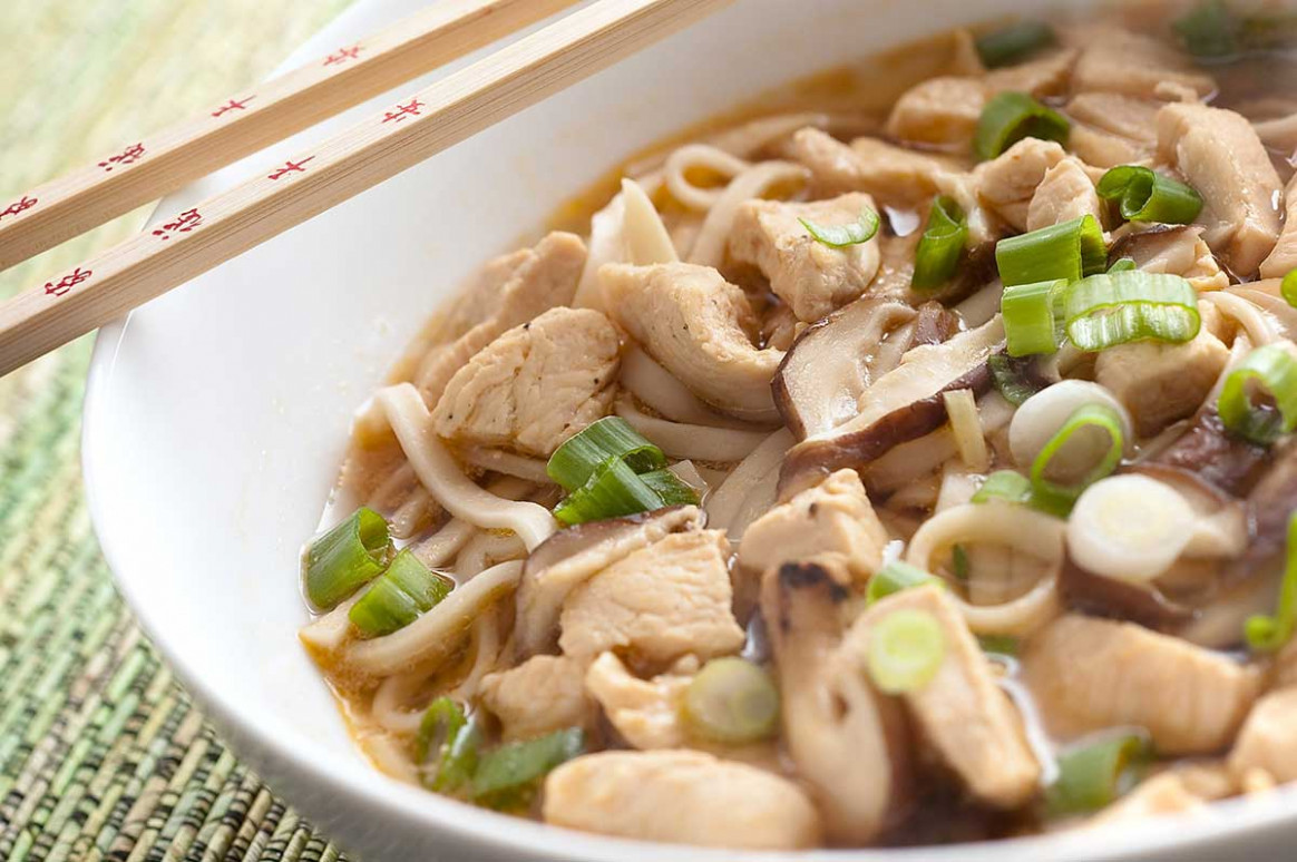 Chicken Udon Noodle Soup - Life's Ambrosia - udon noodle recipes chicken