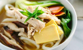 Chicken Udon Soup With Bok Choy – Jessica Gavin – Udon Noodle Recipes Chicken