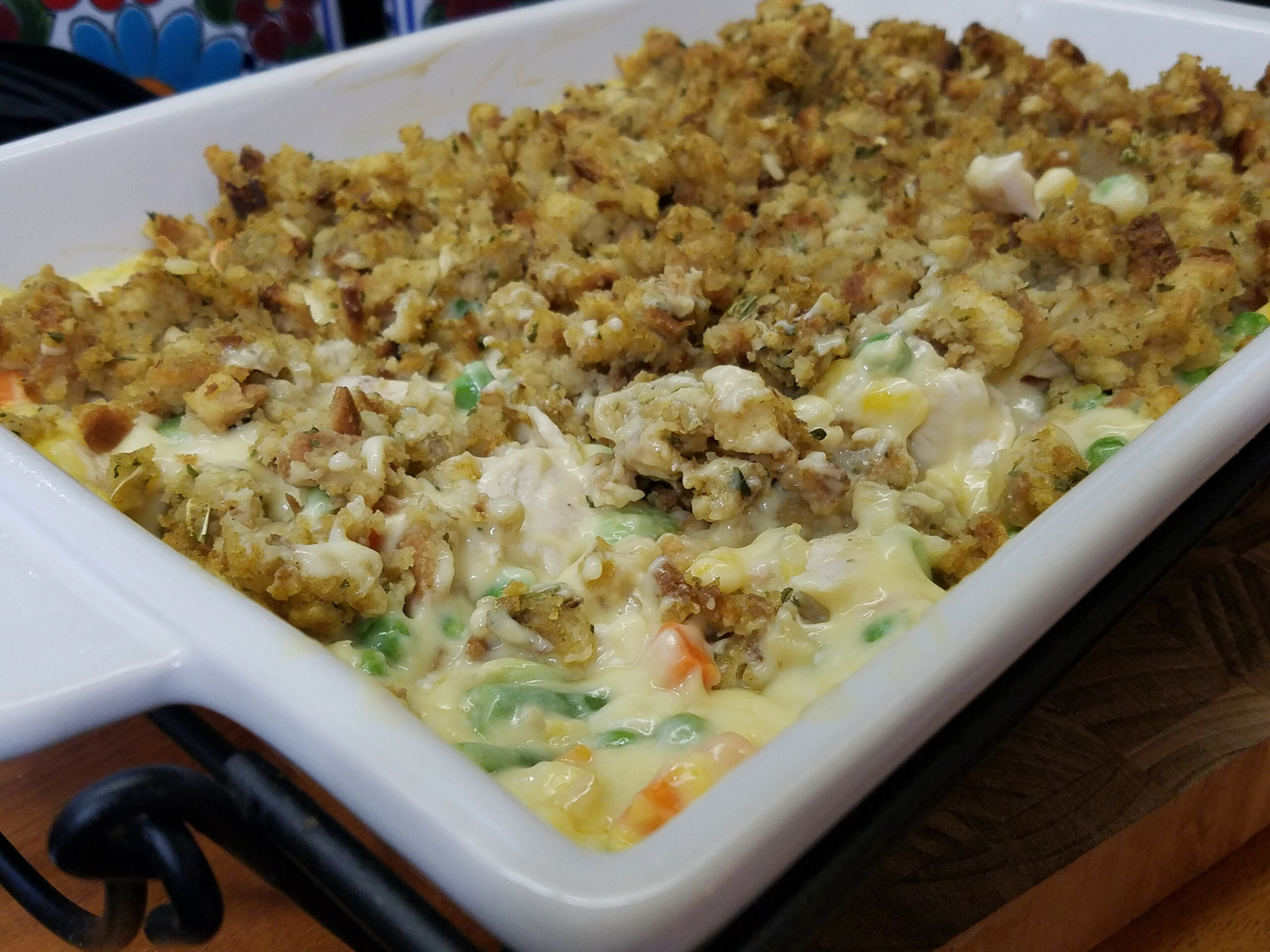 Chicken Vegetable Casserole With Stuffing - chicken and vegetable recipes