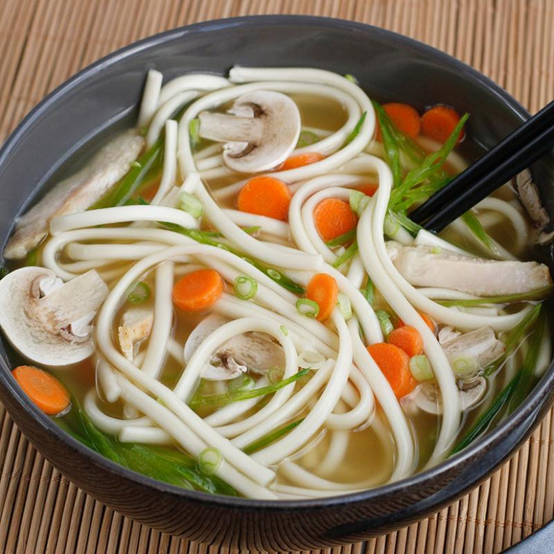 Chicken & Vegetable Udon Soup | Simply Asia - udon noodle recipes chicken