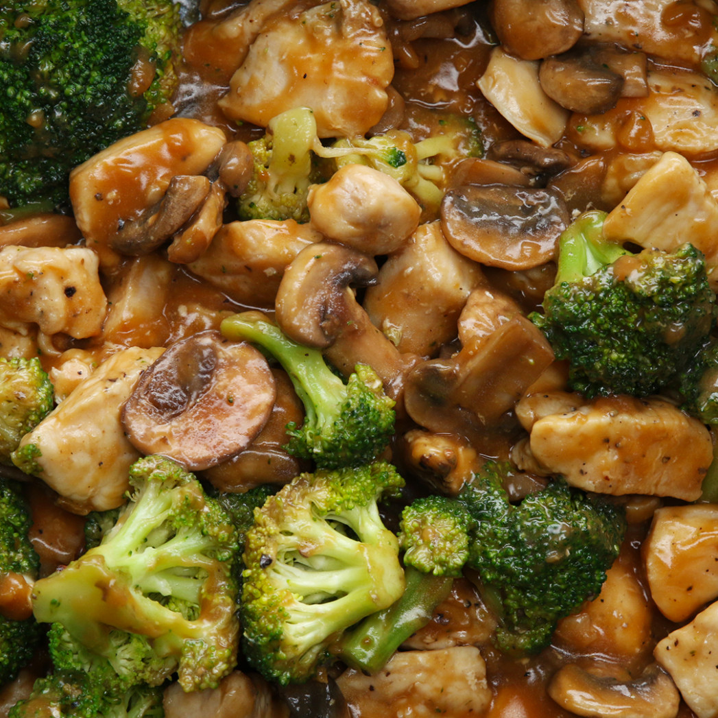 Chicken & Veggie Stir-Fry Recipe by Tasty - healthy recipes broccoli