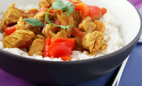 Chicken Vindaloo With Vegetables | Natural Noshing – Recipe Vegetarian Vindaloo