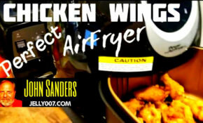 Chicken wings in the Power AirFryer XL short video how to ...