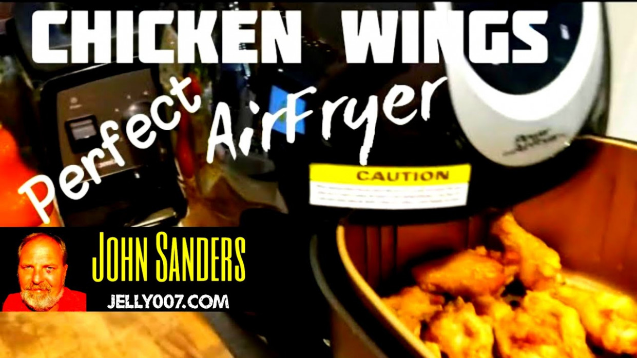Chicken Wings In The Power AirFryer XL Short Video How To ..