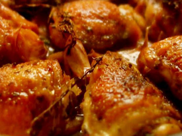 Chicken with 40 Cloves of Garlic Recipe | Nigella Lawson ..