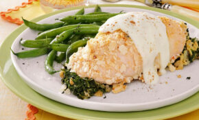 Chicken With Cheese Sauce Recipe | Taste Of Home – Chicken Recipes With Sauce