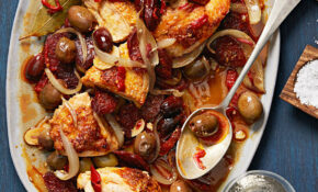 Chicken With Chorizo & Olives – Rachael Ray Every Day – Recipes Chorizo And Chicken