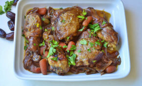 Chicken With Dates | The Little Ferraro Kitchen – Rosh Hashanah Recipes Dinner