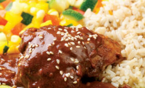 Chicken With Quick Mole Sauce – Chicken Recipes With Sauce
